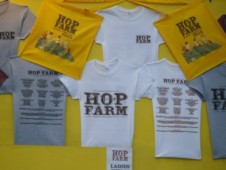 Hop Farm tickets and t-shirts