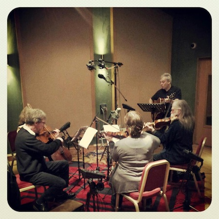Pearlfishers recording in Glasgow