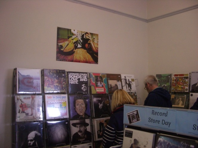 Record Store Day at Coda Music Edinburgh