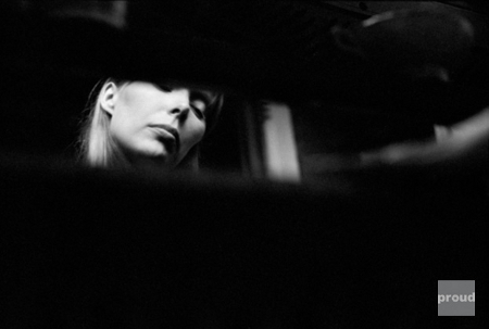 Joni Mitchell by Graham Nash