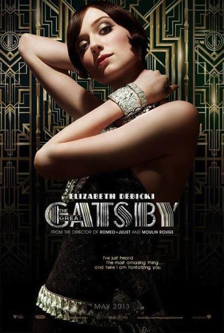 Elizabeth Debicki as Jordan Baker in The Great Gatsby