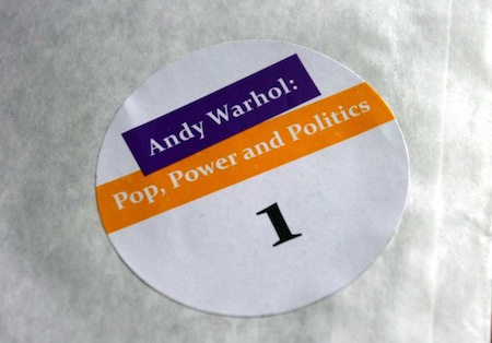 Andy Warhol: Power Pop and Politics