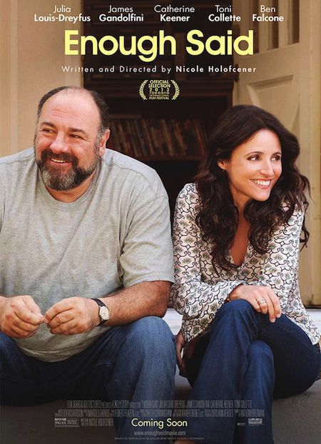 Enough Said with Julia Louis-Dreyfus and James Gandolfini