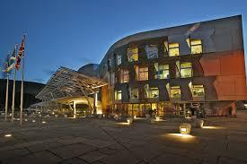 Scottish Parliament building by Enric Miralles