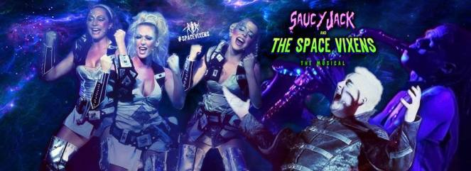 Saucy Jack and the Space Vixens Edinburgh