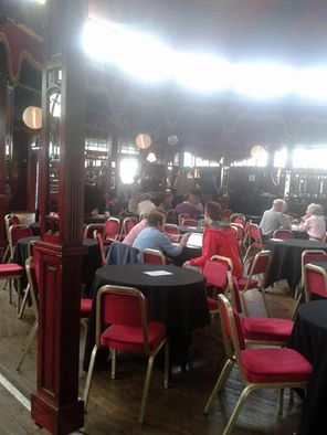 Spiegeltent at the Edinburgh Book Festival
