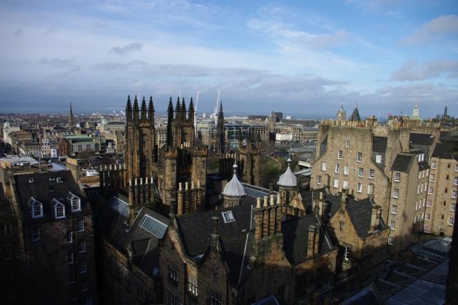 Edinburgh skyline from the Camera Obscura