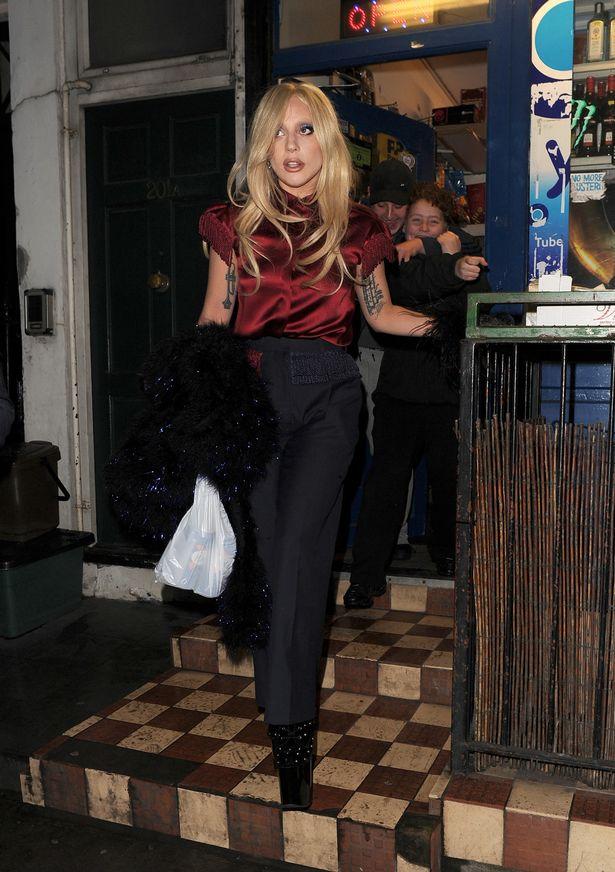 Lady Gaga Barnes and Noble Camden
