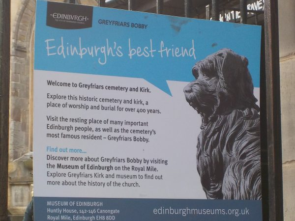 Greyfriars Bobby Edinburgh's best friend