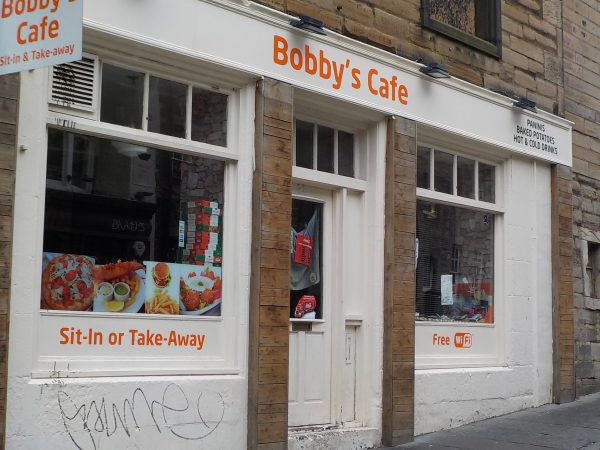 Bobby's Cafe Edinburgh