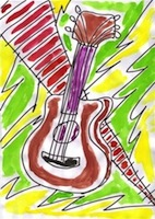 Guitar by Stuart Ferguson