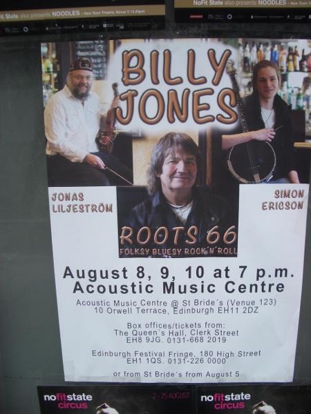 Billy Jones Acoustic Music Centre Edinburgh Roots 66
