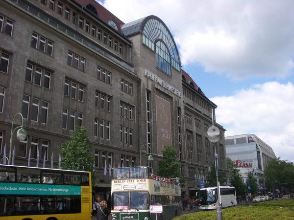 Bowie Berlin KaDeWe