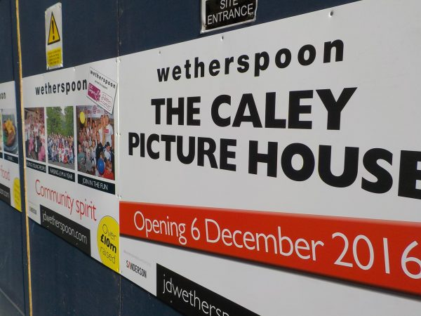 The Caley Picture House sold to Wetherspoon