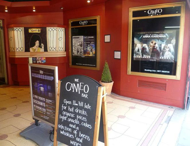Cameo Cinema Edinburgh 100th Birthday