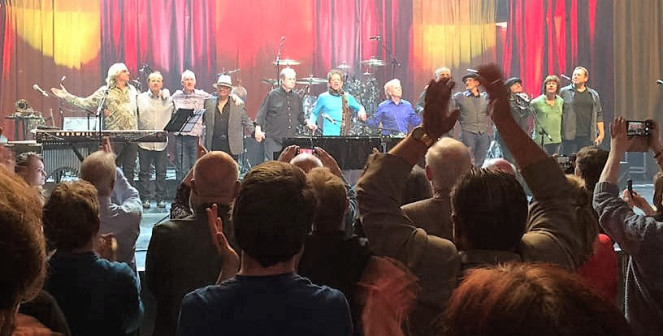 Brian Wilson Edinburgh concert