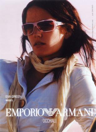 Eva Green Armani