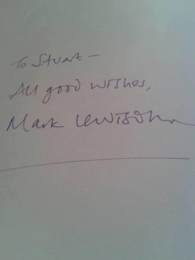 Mark Lewisohn Stuart Ferguson