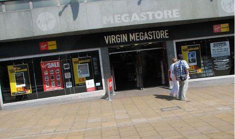 Virgin Megastore Glasgow