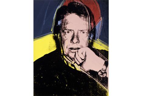 Andy Warhol 1976 portrait Jimmy Carter