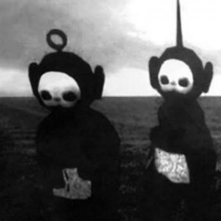 Teletubbies meet Joy Division