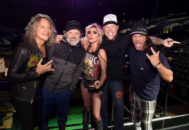 Lady Gaga Metallica