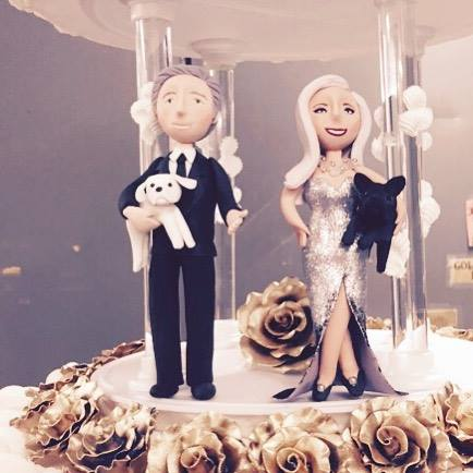 Lady Gaga Tony Bennett cake