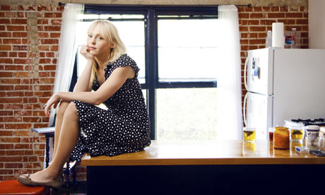 Laura Marling always in the kitchen at parties