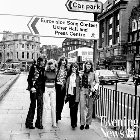 New Seekers Eurovision Song Contest Edinburgh 1972