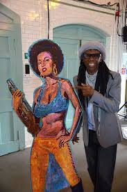 Nile Rogers with Cleopatra Jones, Summerhall, Edinburgh