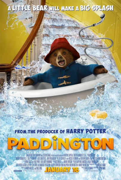 Paddington bear American poster