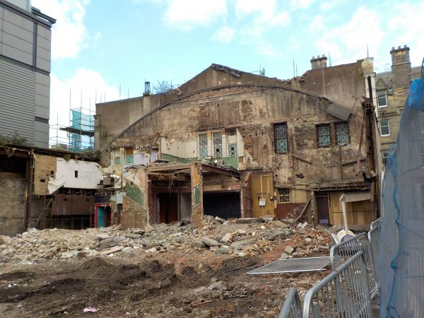 Demolition of the Edinburgh Palais