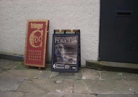 Pericles Story Shakespeare Edinburgh Fringe