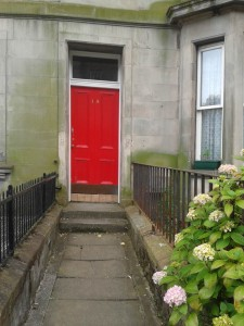 Rankeillor Street, Edinburgh - David Nicholls, One Day