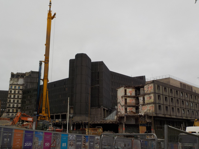 St James Centre demolition - Altamont or Edinburgh?