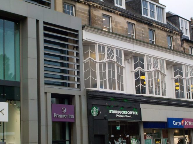 Starbucks Princes Street Edinburgh