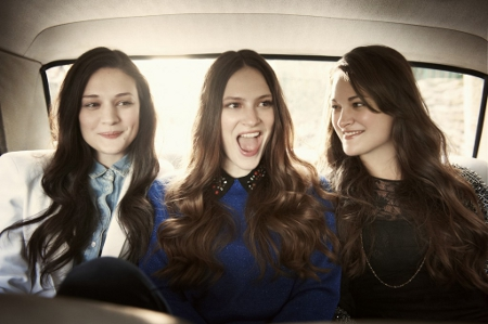 Staves in car
