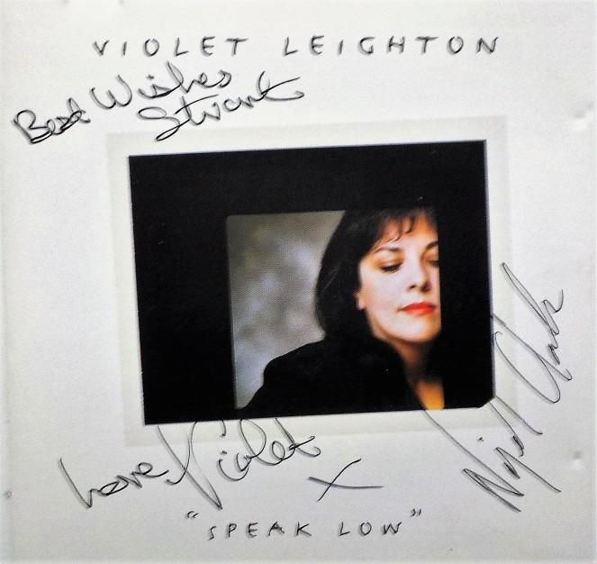 From Violet Leighton to Stuart Ferguson - speak low