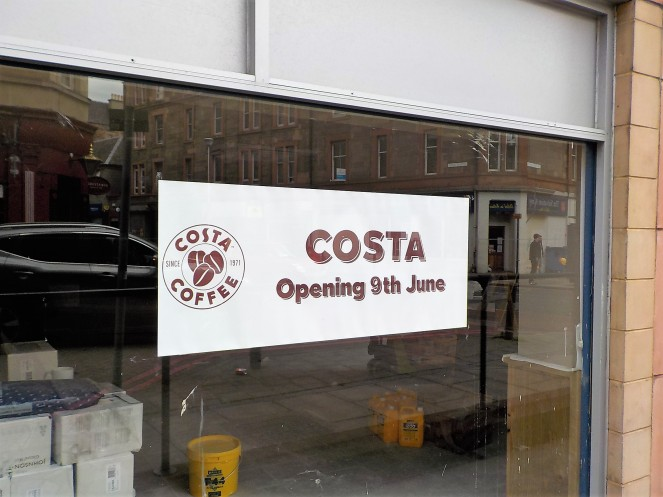 Gorgie over Costa