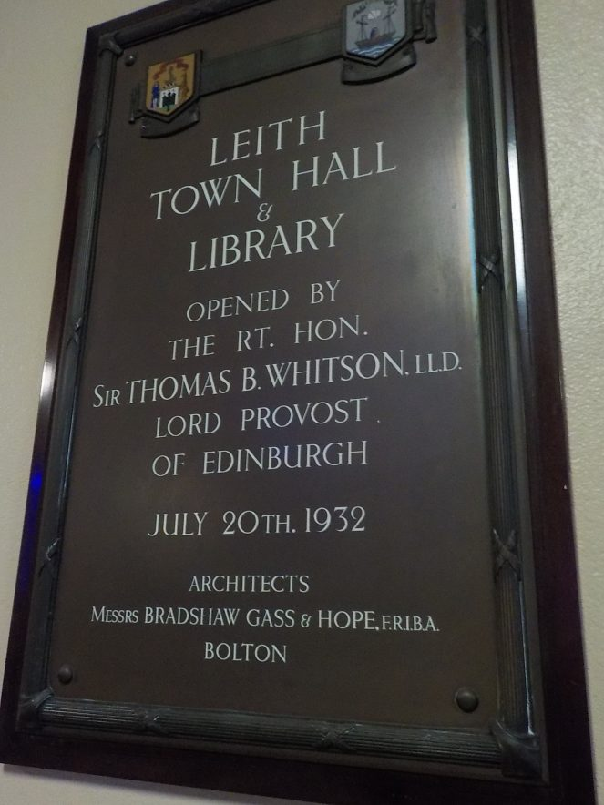 Leith Town Hall and Library