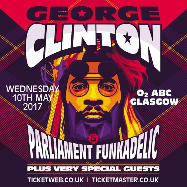 George Clinton 10th May 2017