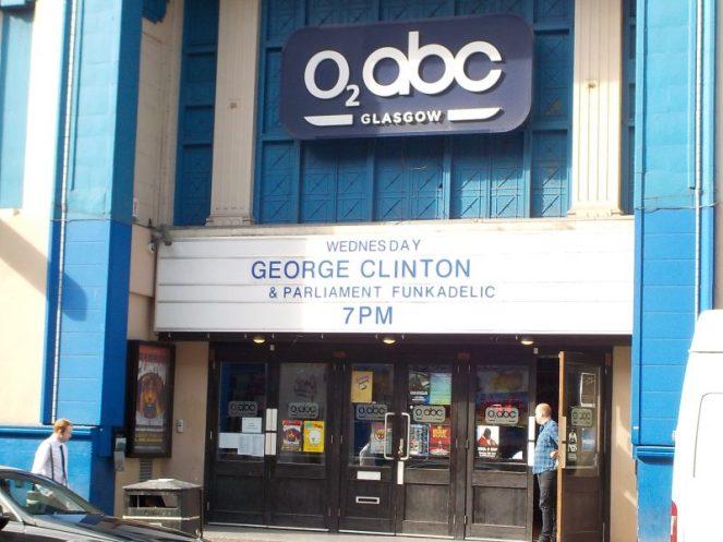 George Clinton Parliament Funkadelic Glasgow 2017