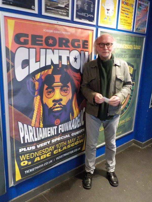 Stuart Ferguson George Clinton Glasgow