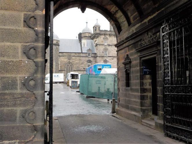 Edinburgh Festivals - the Old College