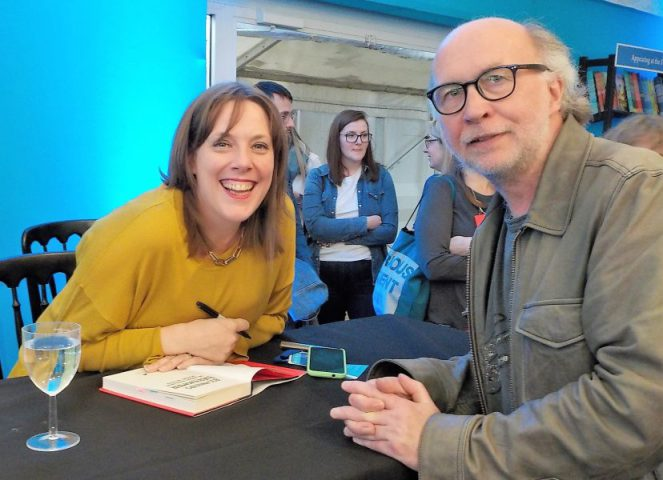 Jess Phillips with Stuart Ferguson Edinburgh Festival 2017