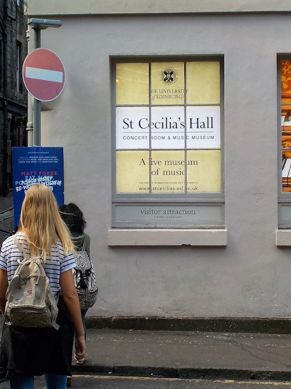 St Cecilia's Hall Edinburgh