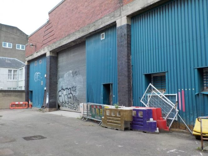 Bus wash Leith Depot