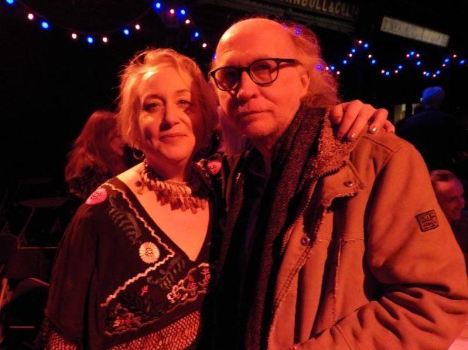 Diane Garisto with Stuart Ferguson