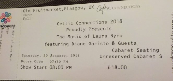 Celtic Connections 2018 The Music of Laura Nyro