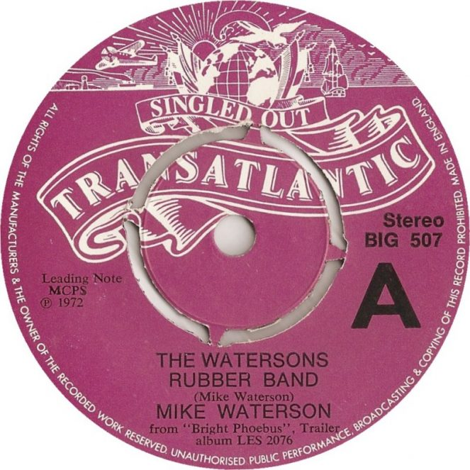The Watersons Rubber Band Mike Waterson Bright Phoebus